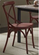 X Back Side Chair - Red Product Image