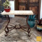 * Travertine Console Table 1242 F Product Image