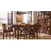 Trestle Gather Height Table