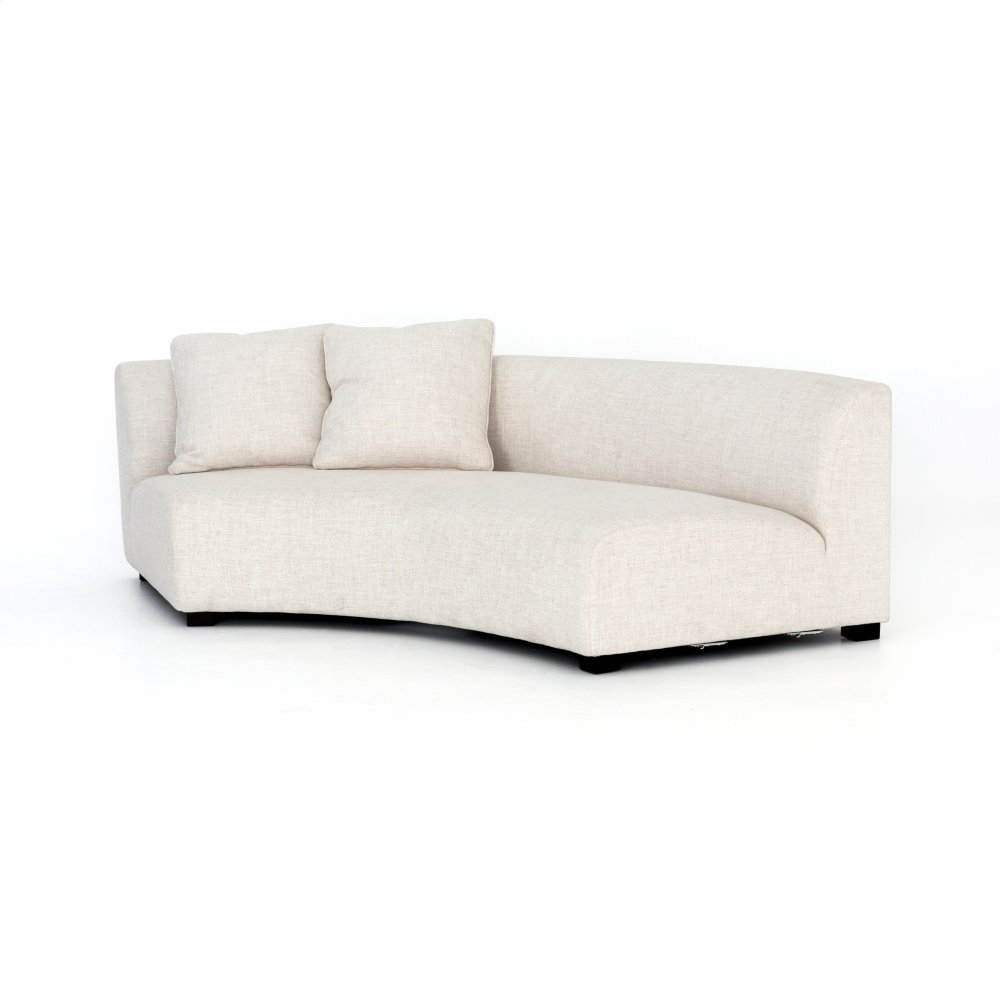 Dover Crescent Cover Single - Left Arm Facing Configuration Liam Sectional