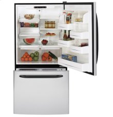 GE® ENERGY STAR® 19.5 Cu. Ft. CleanSteel Bottom-Freezer Drawer Refrigerator