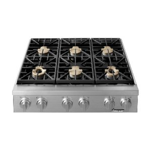 "Dacor36"" Heritage Range Top-SS Natural Gas"