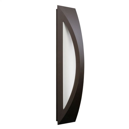 "Cesya 24"" 1 Light LED Wall Light Architectural Bronze"