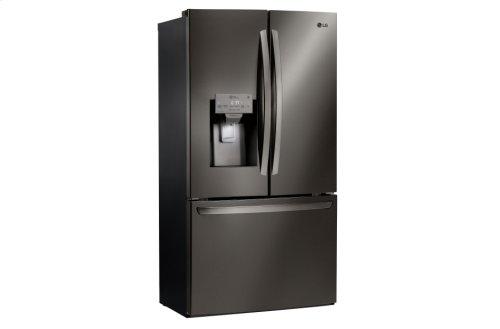 LG Black Stainless Steel Series 28 cu.ft. Capacity 3-Door French Door Refrigerator