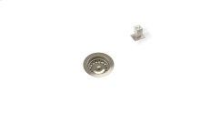 "Drain 100117 - Stainless steel sink accessory , Satin Nickel, 3 1/2"""