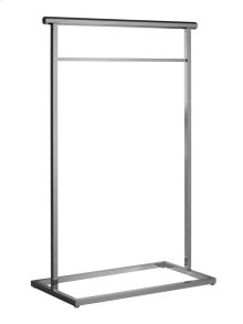 Free standing set with towel bars