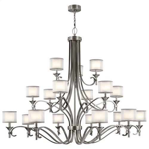 Lacey Collection Lacey 18 Light Grand Chandelier in AP