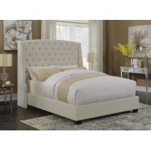 Pissarro Champagne Upholstered Queen Bed