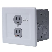 Power Filtering & Surge Protection Wall Outlet