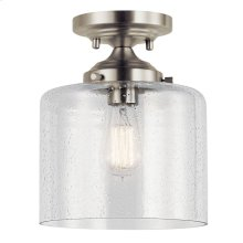 Winslow 1 Light Semi Flush Brushed Nickel