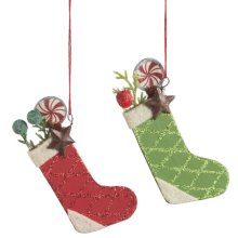 Stocking Ornament (2asstd)
