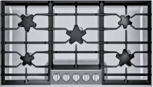 36-Inch Masterpiece® Pedestal Star® Burner Gas Cooktop SGSP365TS