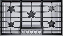 36-Inch Masterpiece® Pedestal Star® Burner Gas Cooktop SGSP365TS