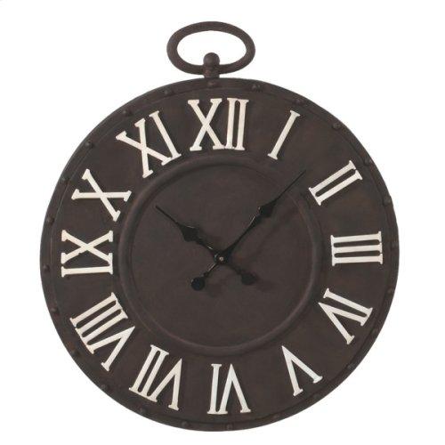 Rusted Pocket Watch Wall Clock