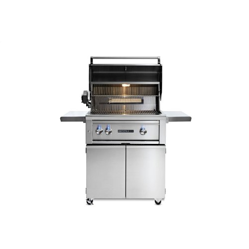 """30"""" Sedona by Lynx Freestanding Grill with 1 Stainless Steel Burner and ProSear Burner and Rotisserie, LP"""