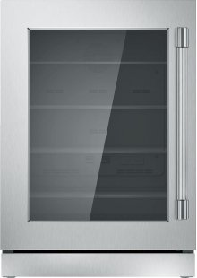 "24"" UNDER-COUNTER GLASS DOOR REFRIGERATION T24UR920LS"
