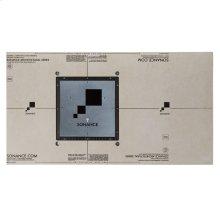 "1/2"" Medium Gypsum Mounting Platform Round Square"