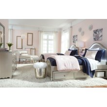 Glitz & Glam Panel Bed, Twin 3/3