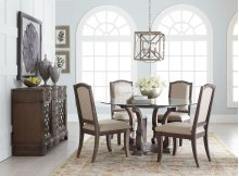 Parliament Round Dining Table and 4 Chairs