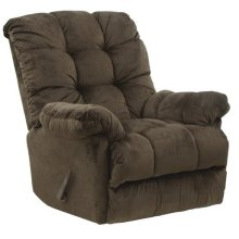 Chaise Rocker Recl w/Deluxe Heat/Massage - Umber