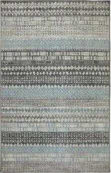Eddleston Ash Grey Rectangle 3ft 6in X 5ft 6in