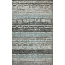 Eddleston Ash Grey Rectangle 3ft 6in X 5ft 6in