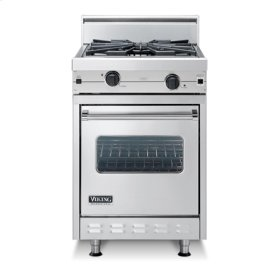 "Almond 24"" Wok/Cooker Companion Range - VGIC (24"" wide range with wok/cooker, single oven)"