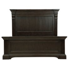 Caldwell Queen Panel Footboard and Slats
