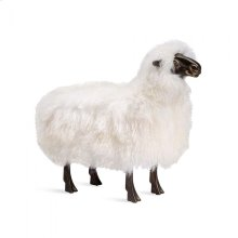 Phillippe Sheep Sculpture - Ivory