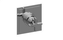 Finezza Pressure Balancing Valve Trim Plate with Handle