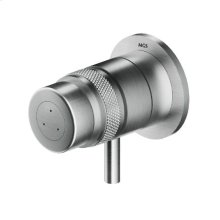 Built-in thermostatic shower mixer.