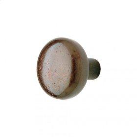 Mushroom Knob - CK306 Silicon Bronze Dark