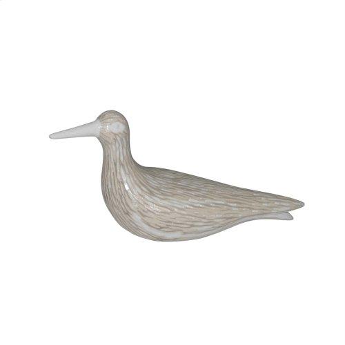 "Ceramic 11.5"" Duck Decoy, Beige"
