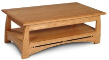 """Aspen Coffee Table with Inlay, Aspen Coffee Table with Inlay, 48""""x27"""""""