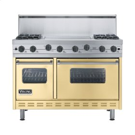 "Golden Mist 48"" Sealed Burner Range - VGIC (48"" wide, four burners 24"" wide griddle/simmer plate)"