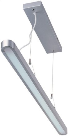 Fluorescent Ceiling Lamp, Silver, Fluor. T5/6400k Tube 28w