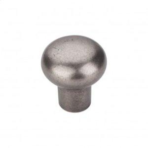 Aspen Round Knob 7/8 Inch - Silicon Bronze Light