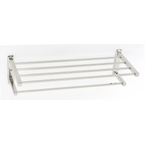 Cube Towel Rack A6526-24 - Polished Nickel