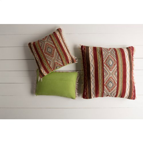 "Marrakech MR-004 20"" x 20"" Pillow Shell with Polyester Insert"