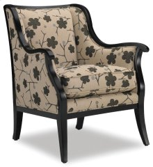 Living Room Cadence Exposed Wood Chair 4384