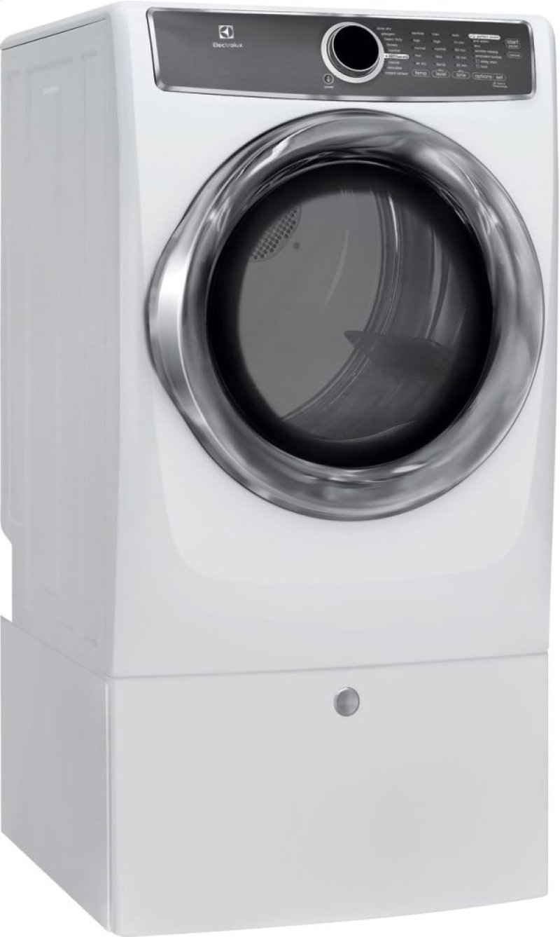 Hidden Additional Front Load Perfect Steam Electric Dryer With Instant Refresh And 9 Cycles 8 0 Cu