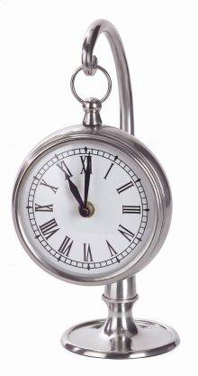 Pewter Finish Hanging Clock