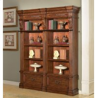 Granada 2 piece Museum Bookcase Set (9030 and 9031) Product Image