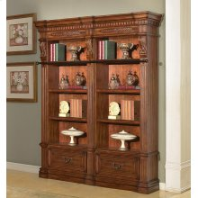 Granada 2 piece Museum Bookcase Set (9030 and 9031)