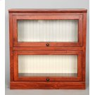 "#522-2 Lawyer Bookcase 2 piece 33""wx14""dx34""h Product Image"