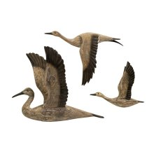 Reeds Migration Wood Wall Decor - Set of 3