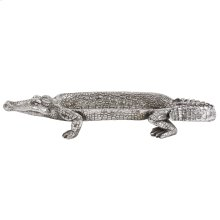 Silver Crocodile Tray