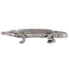 Silver Crocodile Tray
