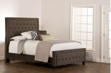Kaylie King Bed Set - Pewter