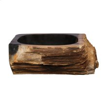 Tiama Petrified Wood Above Counter Basin - Black